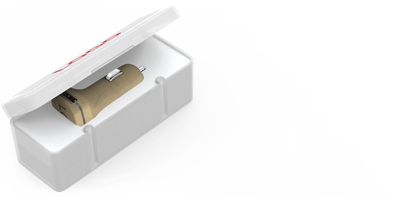 Woodie - Car Charger Promotional Item