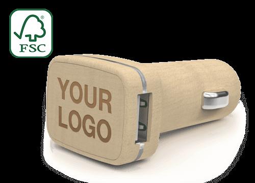 Woodie - Custom USB Car Chargers
